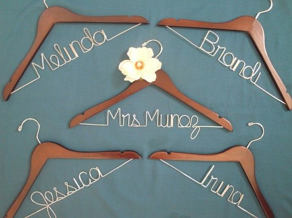 For bridesmaids, too! Most certainly will be doing these