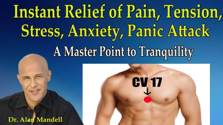 CV 17 Acupressure Point for Instant Relief of Pain, Tension, Stress, Anx...