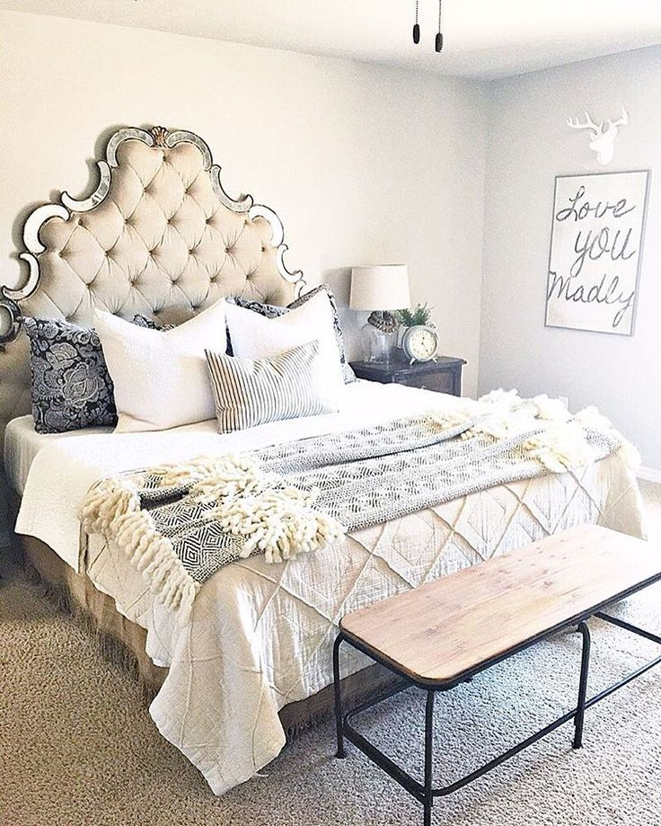 I always get questions about where I bought my headboard. I linked it though @liketoknowit and you can sign up through the link in our bio. Then when you like our pictures you will receive an email with the direct link to buy the item.  Shopping made easy! {bedding is Anthropology} http://liketk.it/2oStu @liketoknow.it #liketkit