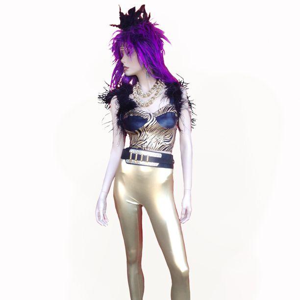 Glam Animal Costume Theme party