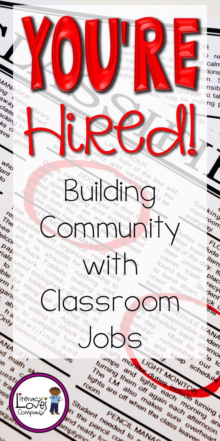 How can you build community, teach responsibility, and instill a strong work ethic all while keeping your classroom clean and organized? With CLASSROOM JOBS of course!