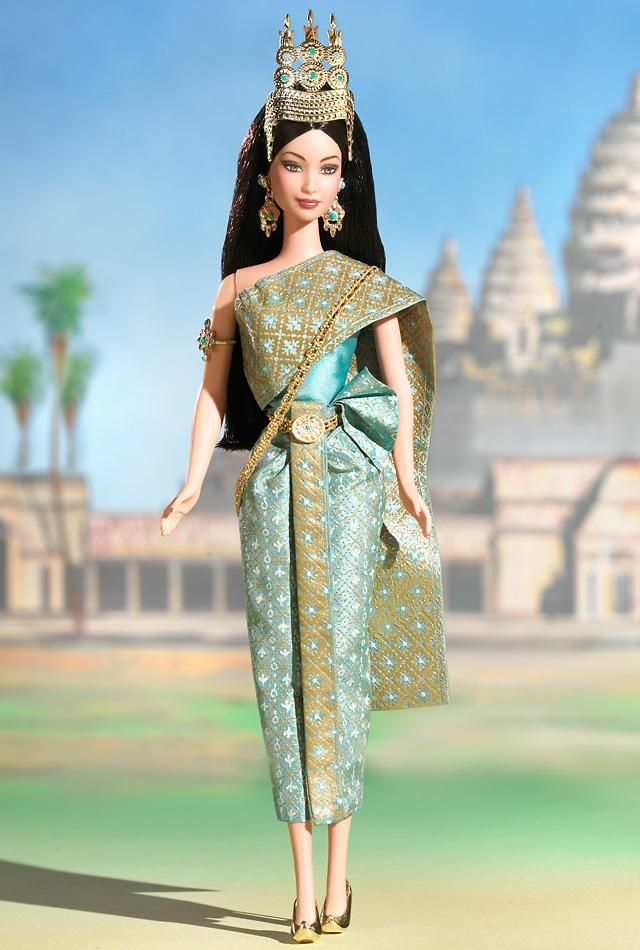 Princess of Cambodia™ Barbie® Doll  Collector Edition  Release Date: 3/1/2003