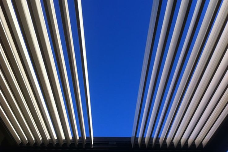 Retractable Roof Louvres Australia | Concertina Opening Roof