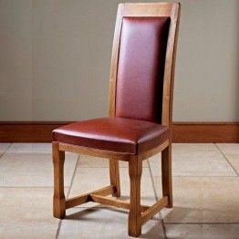 Old Charm Chatsworth CT2899 Dining Chair in Leather http://www.furniturebrands4u.co.uk/old-charm/chatsworth