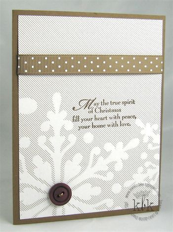 Christmas Cocoa - Stampin' Up!