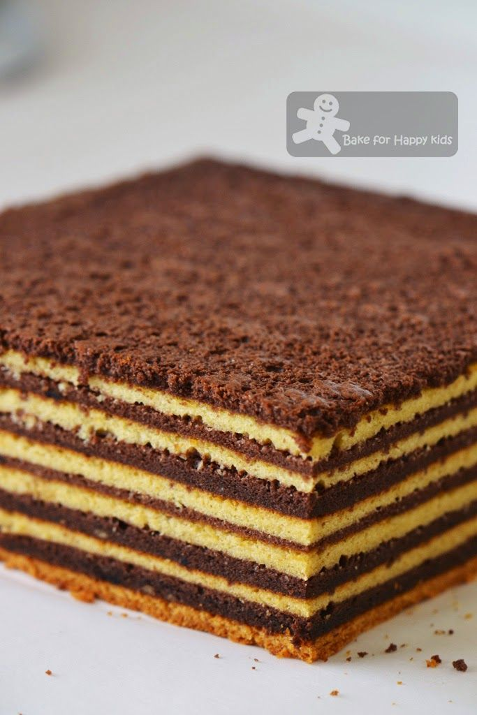 Bake for Happy Kids: Chocolate Vanilla Kek Lapis / Lapis Legit / Spekkoek/ Indonesian Layer Cake