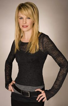 Cold Case...especially Kathryn Morris.  She's so beautiful and ethereal.