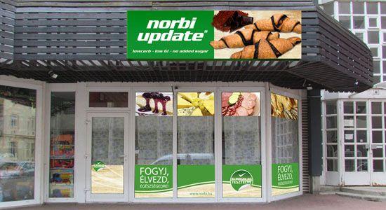 Portál tervezés / Shop window design