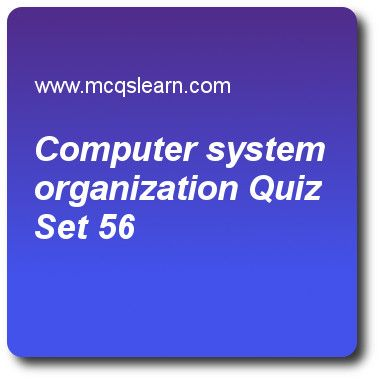 Computer System Organization Quizzes:   operating systems Quiz 56 Questions and Answers - Practice operating system quizzes based questions and answers to study computer system organization quiz with answers. Practice MCQs to test learning on computer system organization, computer system architecture, user operating system interface, interrupts quizzes. Online computer system organization worksheets has study guide as initial program that run for starting system is called, answer key with..