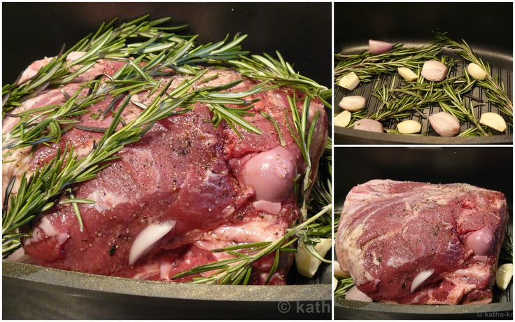 Du suchst für Ostern ein Rezept für eine zart geschmorte Lammkeule mit Rosmarin? Dann habe ich das Richtige für dich - serviert mit Bohnen und Kartoffeln!