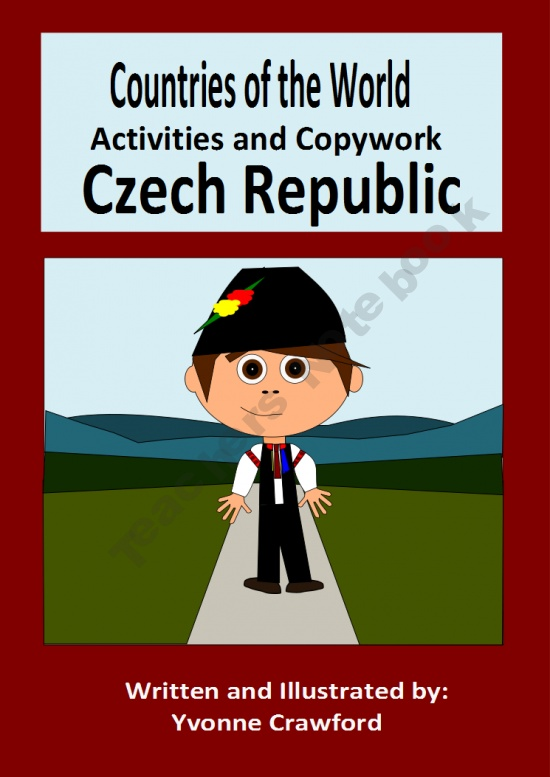 This booklet focuses on the country of the Czech Republic.  Your students will learn facts about the Czech Republic while practicing their manuscript and cursive handwriting and engaging in fun activities.
