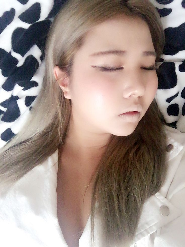 Sleeping beauty theme   Makeup  Nude  Korean  Hair  Ash  Gray