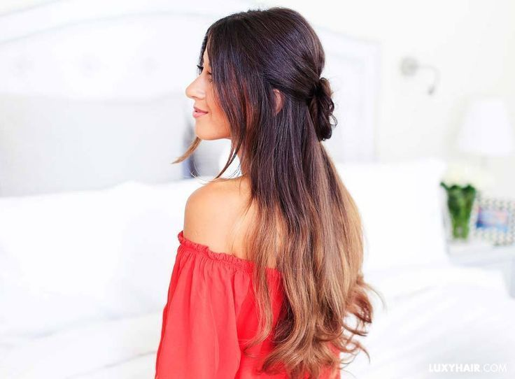 3 Lazy Hairstyles for Lazy Days – Luxy Hair – #hairstyles – #new
