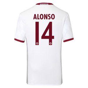 16-17 FC Bayern Munich Third Cheap ALONSO #14 Replica Jersey [G315]