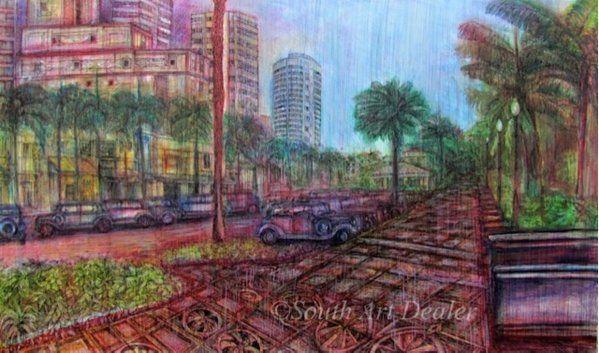 #AlexanderRichardCarbonell a #contemporaryartist born in #Cuba info@southartdealer.com #AvailableWorkSouthArtDealer