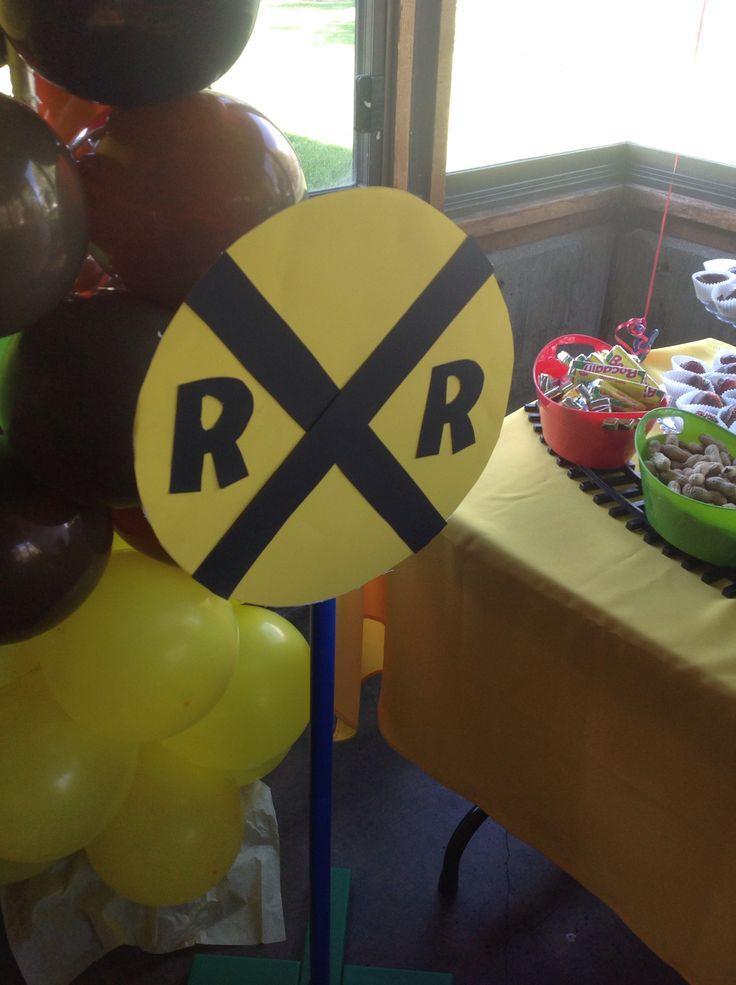 Ferrocarril Decoracion De Fiestas Infantiles Pinterest