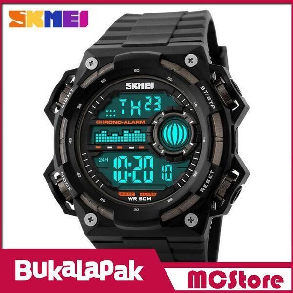 Beli MCStore Jam Tangan Pria SKMEI S-Shock Militer Sport Watch Water Resistant 50m - DG11151 - Black/Titanium dari MCStore habibwaldani - Jakarta Barat hanya di Bukalapak