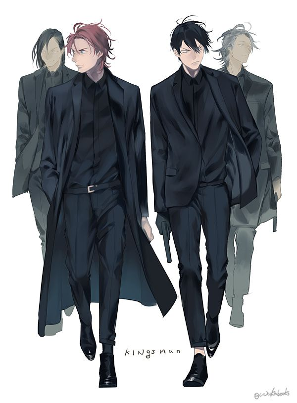 Anime Characters In Suits : Best character outfit suit images on pinterest