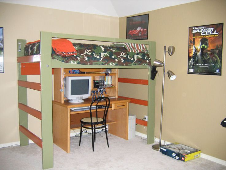 1000 Images About Loft Amp Bunk Beds Kid S Bedroom