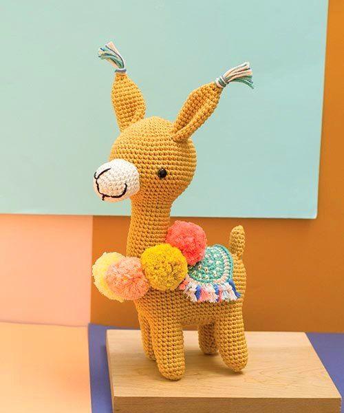 amigurumi llama crochet pattern