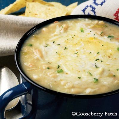 6 soup recipes: Potato soup, broccoli cheese soup, White Chicken Chili, lasagne soup, bacon & corn chowder, and cheeseburger soup. some real food modifications required.