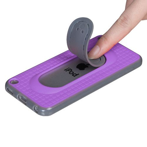 MYBAT Snap Tail Stand Apple iPod Touch 5G / 6G Case - Purple