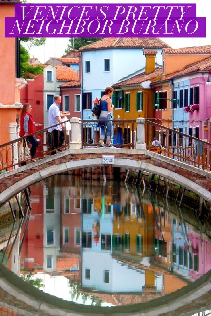 Italy's island of Burano sits quietly in the Venetian lagoon near it's famous neighbor Venice. Buildings like the canals and plaza with beautiful color. Instructions of how to get to Burano and what activities you can do included.