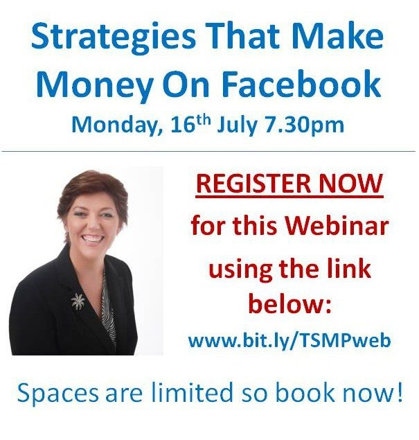Book in to join me...great to learn more about how to use social media