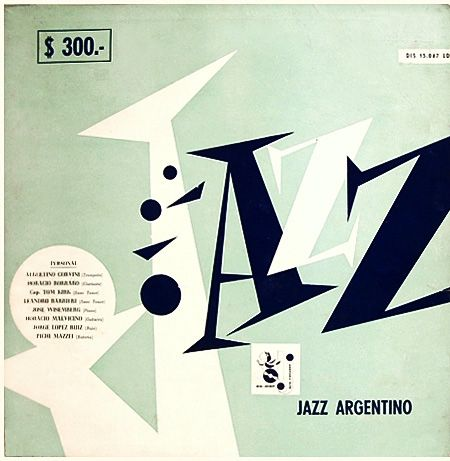Jazz in varous countries - rare record album covers
