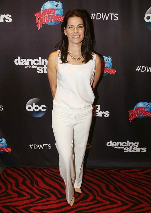 Nancy Kerrigan at the Dancing with the Stars event in March 2017...