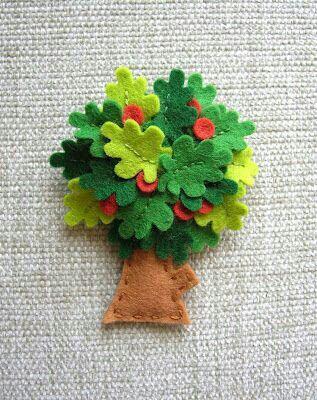 Tree felt
