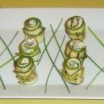 Zucchine arrotolate ripiene