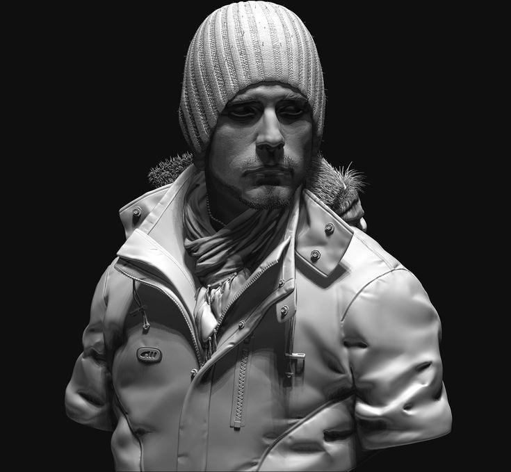 sculpting practice by Arash Beshkooh   Realistic   3D   CGSociety