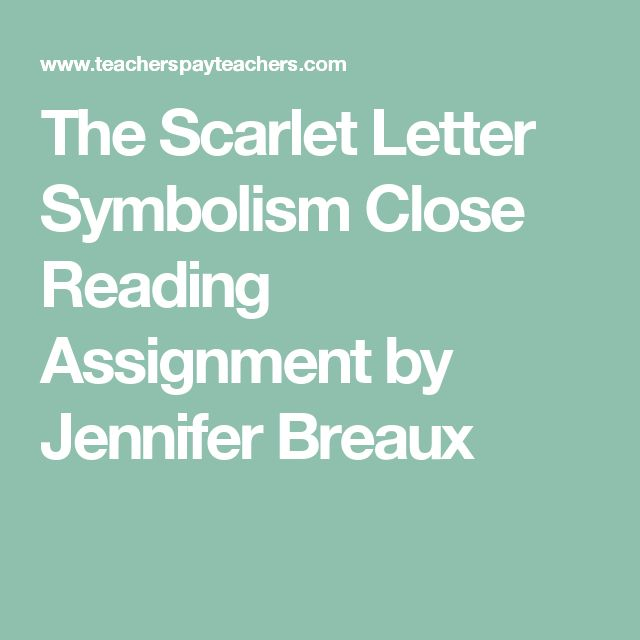 an analysis of the letter a symbolize The scarlet letter: symbolism in the forest the path strangled onward into the mystery of the primeval forest(179) this sentence displays just one of the multiple personalities that the forest symbolizes in the scarlet letter written by.