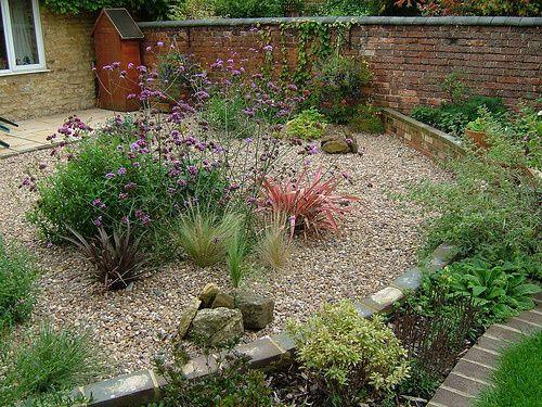 jardin con grava
