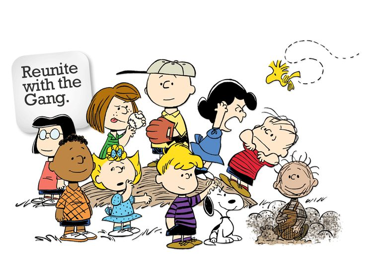 Peanuts with the Gang.  http://www.peanuts.com/