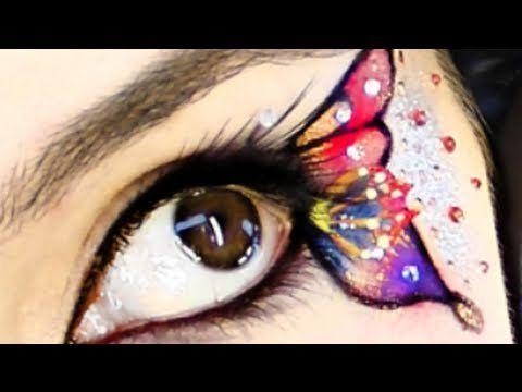 butterfly makeup klaire de lys