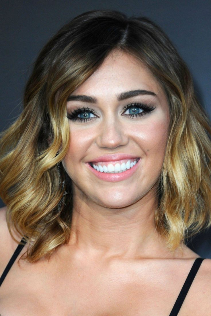 Miley Cyrus at the 2012 premiere of 'The Hunger Games.'