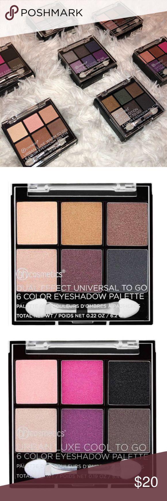 BH Cosmetics Eyes To Go Mini Palettes – Set of seven BH Cosmetics Eyes To Go Mini Pa…