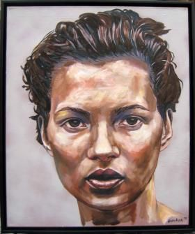 Gijs Donker, Young Kate Moss, 80x100cm
