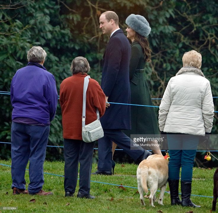 (EMBARGOED FOR PUBLICATION IN UK NEWSPAPERS UNTIL 48 HOURS AFTER CREATE DATE AND TIME) Prince William, Duke of Cambridge and Catherine, Duchess of Cambridge attend the Sunday service at St Mary Magdalene Church, Sandringham on January 8, 2017 in King's Lynn, England. (Photo by Max Mumby/Indigo/Getty Images)