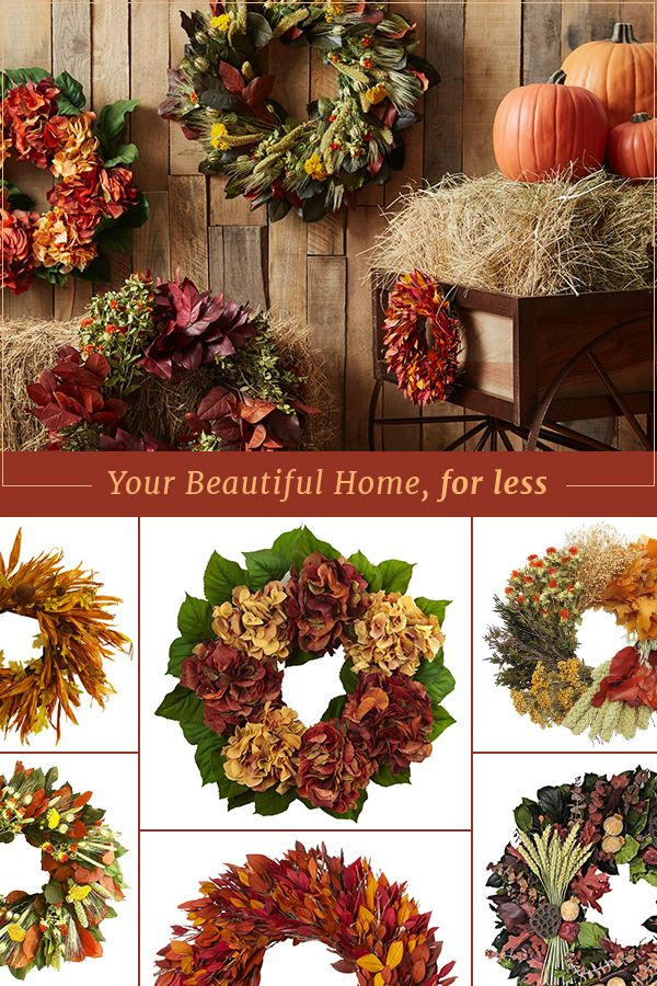 Wreaths are the perfect way to welcome your guests for the holidays! Shop seasonal front porch decor at irresistible prices at Joss & Main. Sign up now and be the first to hear about what's on sale today!