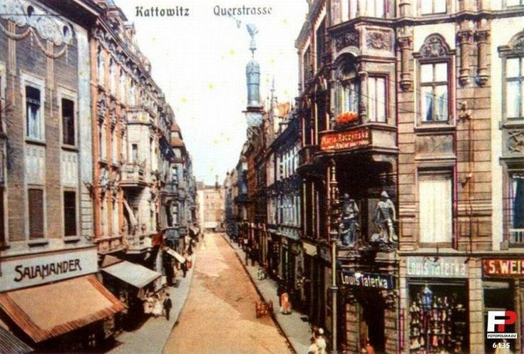 Zdjęcie numer 1 w galerii - Najpierw kręta wiejska droga, potem szykowny salon Katowic. Ta ulica aż osiem razy zmieniła nazwę