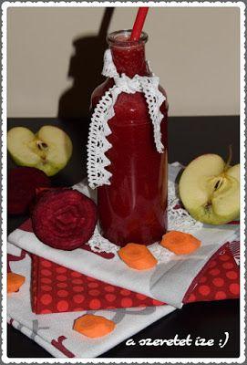 A szeretet íze: Céklás-epres ital: