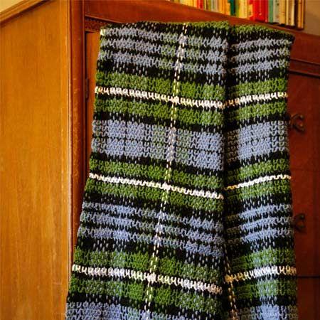 11 best plaid images on pinterest crochet blankets crocheted forbes tartan afghan fandeluxe Images