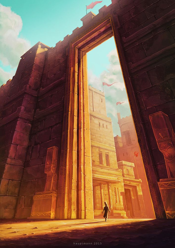 The Ancient Gate by Anton Nugroho