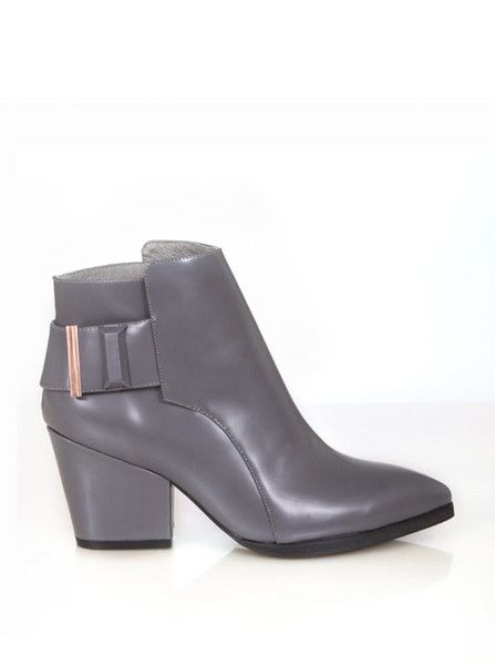 Ginger and Smart - Commander Ankle Boot - Grey - Autumn 15