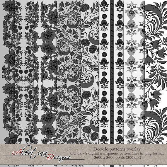 Набор текстур для создания скрап-бумаг 8 штук от DesignsAlevtina