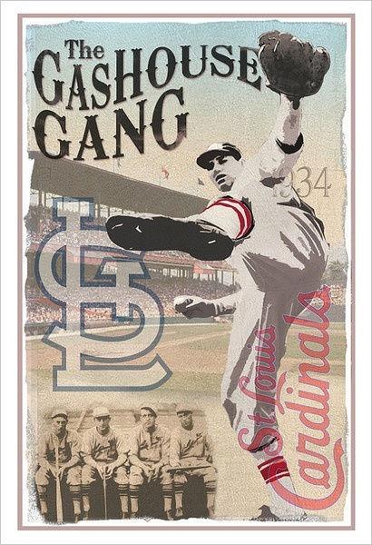 #vintage #baseball #poster #StLouis #Cardinals