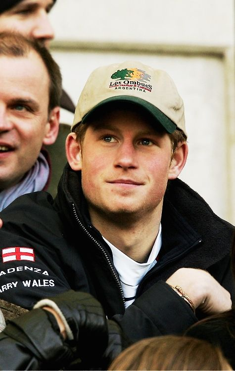 "prince-harry-love: ""hisroyalhotnessprinceharry: ""Prince Henry Charles Albert David + hats »> casual hats 26-40 The rest of the "" Henry Charles Albert David + hats »> casual hats "" spam can be found here "" Harry usually wears a cap to try make himself..."